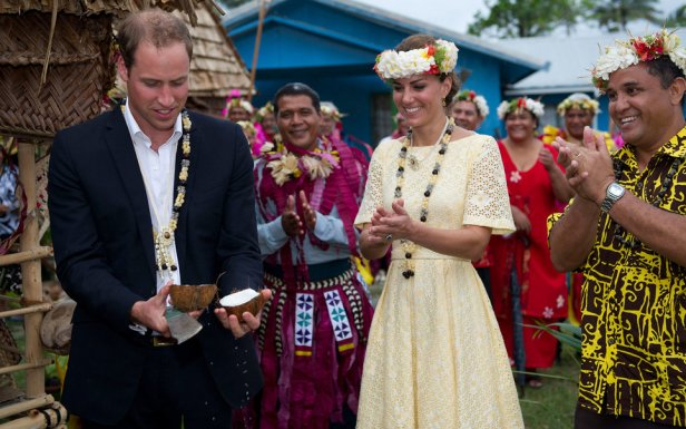 The Duke And Duchess Of Cambridge Diamond Jubilee Tour - Day 8